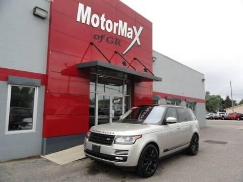 2016 Land Rover Range Rover for sale at MotorMax of GR in Grandville MI