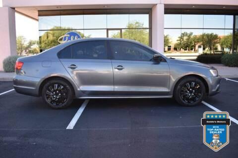 2014 Volkswagen Jetta for sale at GOLDIES MOTORS in Phoenix AZ