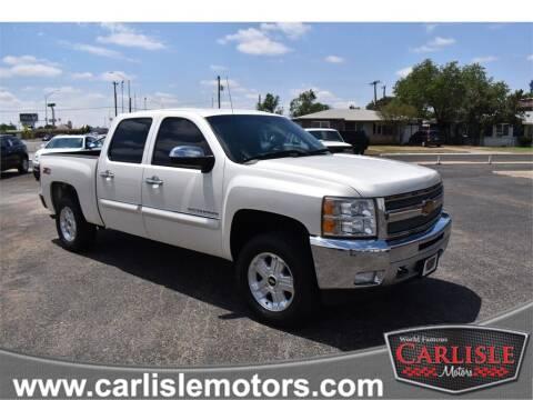 2013 Chevrolet Silverado 1500 for sale at Carlisle Motors in Lubbock TX