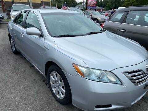 2007 Toyota Camry Hybrid for sale at Primary Motors Inc in Commack NY