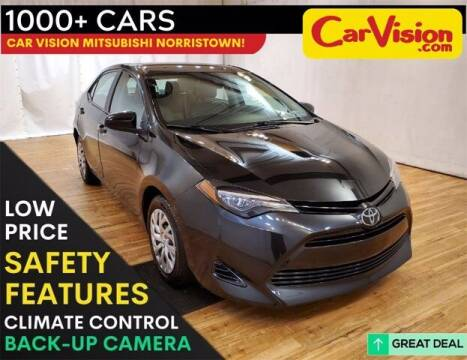 2018 Toyota Corolla for sale at Car Vision Buying Center in Norristown PA
