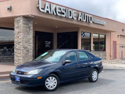 2004 Ford Focus for sale at Lakeside Auto Brokers in Colorado Springs CO