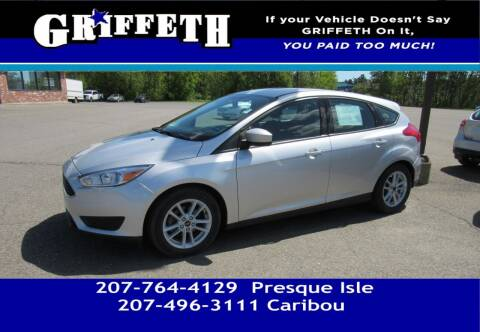2018 Ford Focus for sale at Griffeth Mitsubishi - Pre-owned in Caribou ME