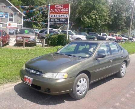 1998 Nissan Altima for sale at Korz Auto Farm in Kansas City KS