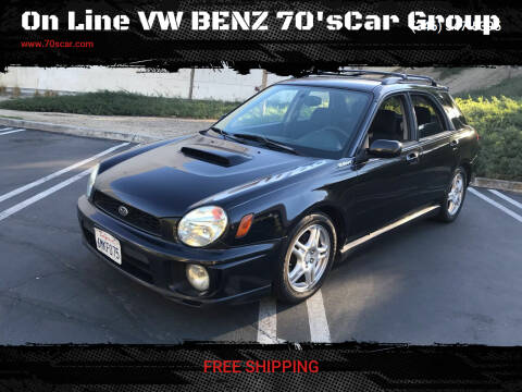 2002 Subaru Impreza for sale at On Line VW BENZ 70'sCar Group in Warehouse CA