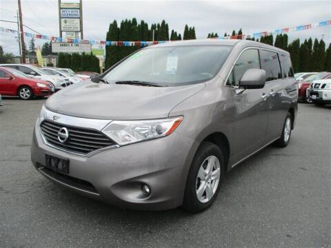 2013 Nissan Quest for sale at GMA Of Everett in Everett WA