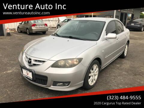 2008 Mazda MAZDA3 for sale at Venture Auto Inc in South Gate CA