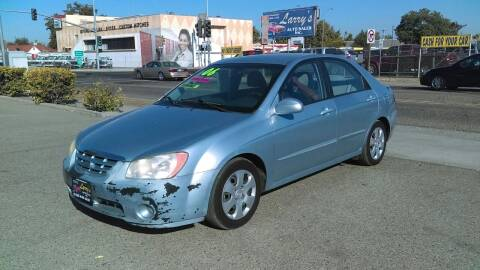 2006 Kia Spectra for sale at Larry's Auto Sales Inc. in Fresno CA
