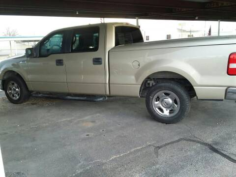 2008 Ford F-150 for sale at Kann Enterprises Inc. in Lovington NM