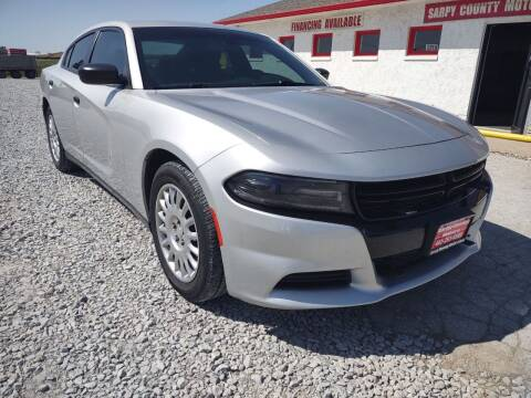 2016 Dodge Charger for sale at Sarpy County Motors in Springfield NE