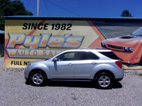 2010 Chevrolet Equinox for sale at Pyles Auto Sales in Kittanning PA