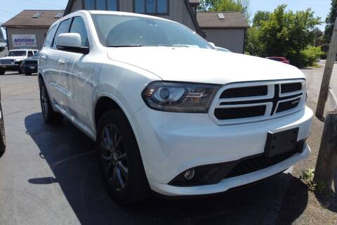 2018 Dodge Durango for sale at RS Motors in Falconer NY