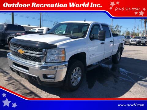 2014 Chevrolet Silverado 2500HD for sale at Outdoor Recreation World Inc. in Panama City FL