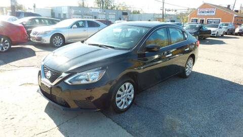 2018 Nissan Sentra for sale at Unlimited Auto Sales in Upper Marlboro MD