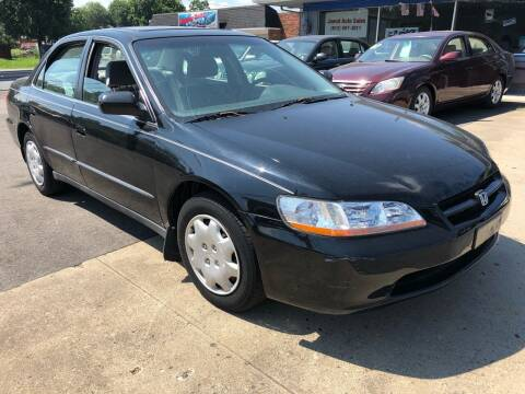 1998 Honda Accord for sale at Wise Investments Auto Sales in Sellersburg IN