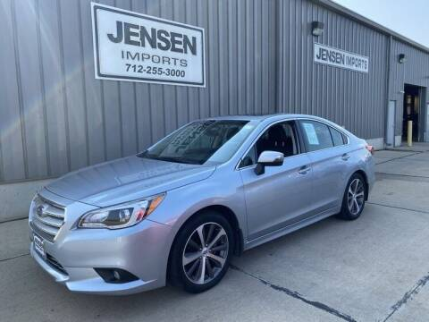 2017 Subaru Legacy for sale at Jensen's Dealerships in Sioux City IA