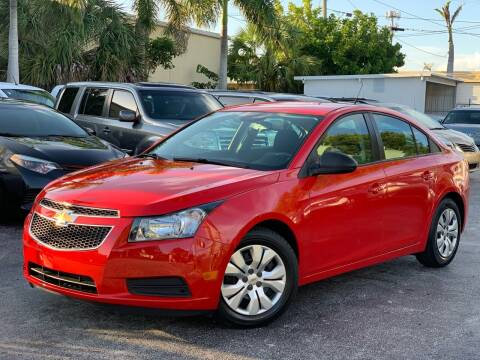 2014 Chevrolet Cruze for sale at Citywide Auto Group LLC in Pompano Beach FL