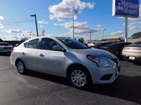 2019 Nissan Versa for sale at Auto Finance of Raleigh in Raleigh NC