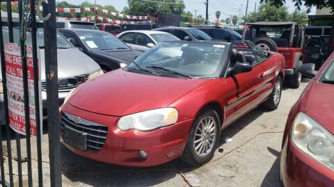 2004 Chrysler Sebring for sale at C.J. AUTO SALES llc. in San Antonio TX