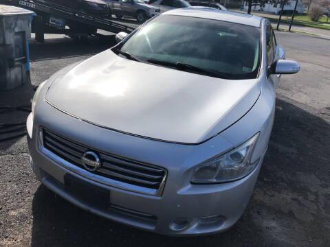 2013 Nissan Maxima for sale at J & J Autoville Inc. in Roanoke VA