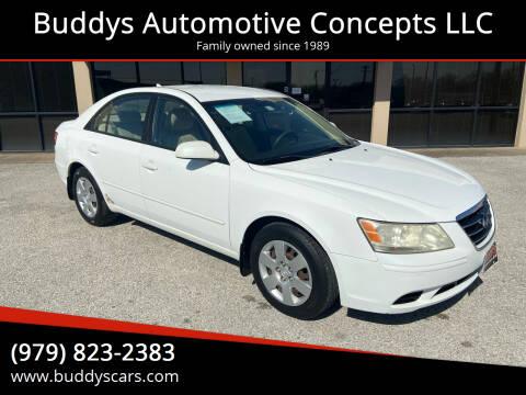 2009 Hyundai Sonata for sale at Buddys Automotive Concepts LLC in Bryan TX