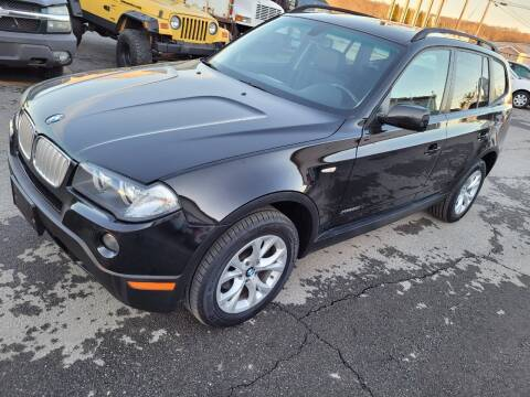 2009 BMW X3 for sale at JG Motors in Worcester MA