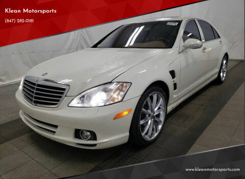 2008 Mercedes-Benz S-Class for sale at Klean Motorsports in Skokie IL