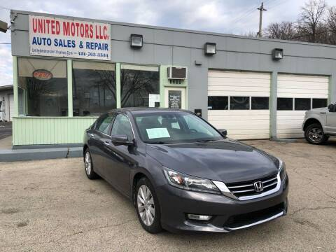 2014 Honda Accord for sale at United Motors LLC in Saint Francis WI