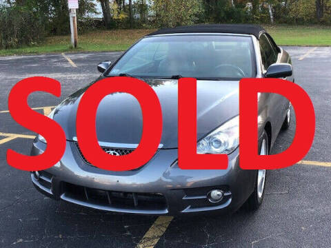 2008 Toyota Camry Solara for sale at Anamaks Motors LLC in Hudson NH