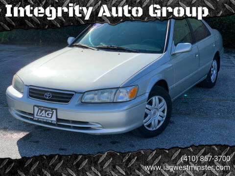 2001 Toyota Camry for sale at Integrity Auto Group in Westminister MD