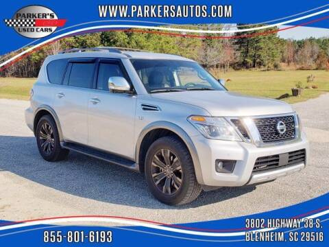 2018 Nissan Armada for sale at Parker's Used Cars in Blenheim SC