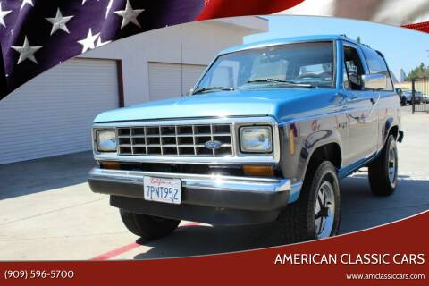 1988 Ford Bronco II for sale at American Classic Cars in La Verne CA