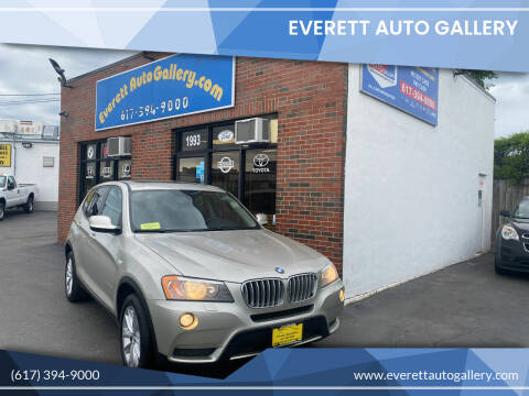 2014 BMW X3 for sale at Everett Auto Gallery in Everett MA