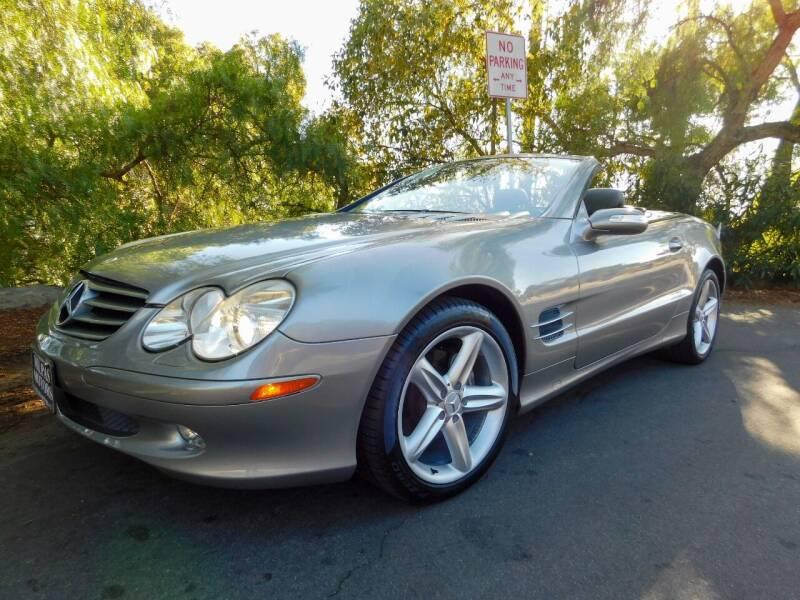 2005 Mercedes-Benz SL-Class for sale at Milpas Motors in Santa Barbara CA