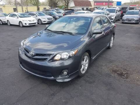 2013 Toyota Corolla for sale at Nonstop Motors in Indianapolis IN