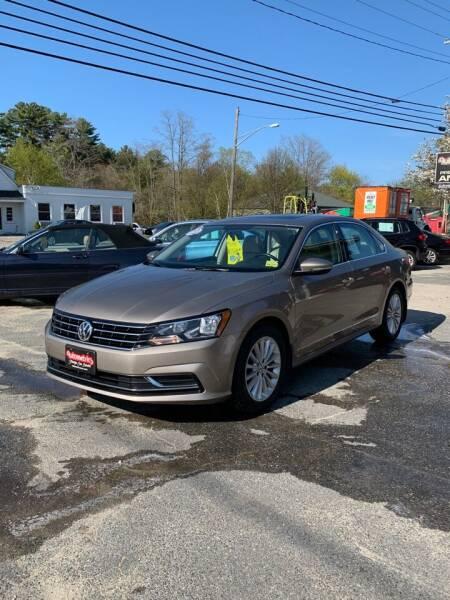 2016 Volkswagen Passat for sale at AUTOMETRICS in Brunswick ME