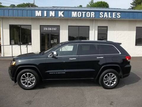 2015 Jeep Grand Cherokee for sale at MINK MOTOR SALES INC in Galax VA