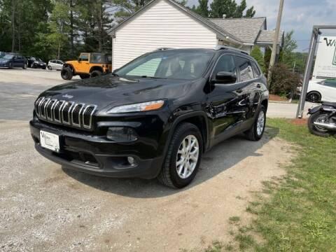 2015 Jeep Cherokee for sale at Williston Economy Motors in Williston VT