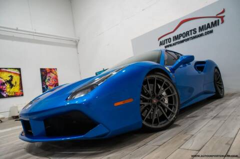 2016 Ferrari 488 Spider for sale at AUTO IMPORTS MIAMI in Fort Lauderdale FL