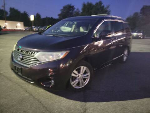 2011 Nissan Quest for sale at Cruisin' Auto Sales in Madison IN