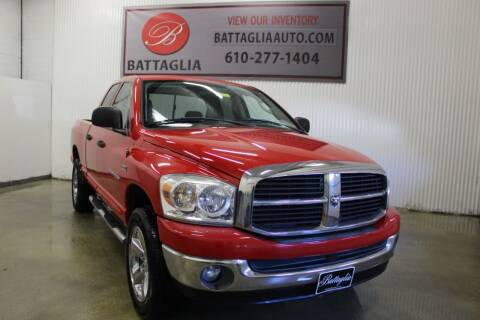 2007 Dodge Ram Pickup 1500 for sale at Battaglia Auto Sales in Plymouth Meeting PA