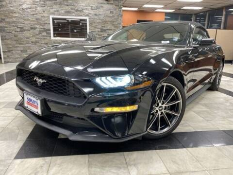 2019 Ford Mustang for sale at Sonias Auto Sales in Worcester MA