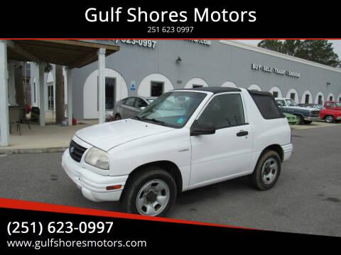 2002 Suzuki Vitara for sale at Gulf Shores Motors in Gulf Shores AL