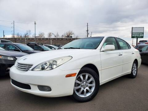 2002 Lexus ES 300 for sale at LA Motors LLC in Denver CO