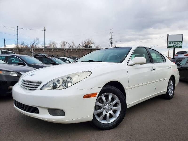 2002 Lexus ES 300 for sale at LA Motors LLC in Denver CO