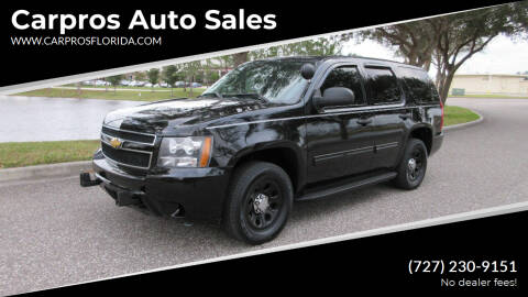 2012 Chevrolet Tahoe for sale at Carpros Auto Sales in Largo FL