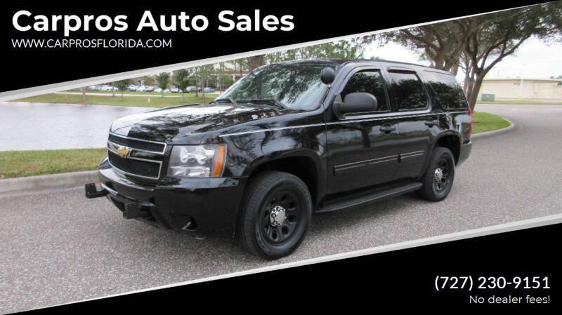 2012 Chevrolet Tahoe for sale at Carpros Auto Sales in Largo FL