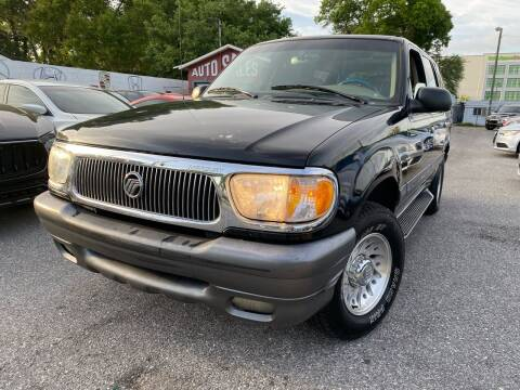 2000 Mercury Mountaineer for sale at CHECK  AUTO INC. in Tampa FL