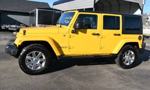 2015 Jeep Wrangler Unlimited for sale at Heritage Automotive Sales in Columbus in Columbus IN