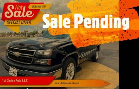 2007 Chevrolet Silverado 1500 Classic for sale at 1st Choice Auto L.L.C in Oklahoma City OK